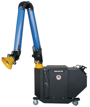 Air Systems Fume-Air 750 Portable Fume Extractor - 750 CFM - PFE-750-8