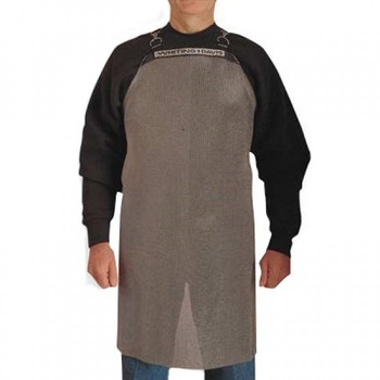 """Stainless Steel Mesh Apron 20""""x20"""" - A2020"""