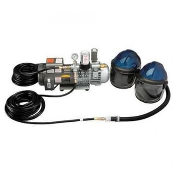 Allegro Deluxe Supplied Air Shield/Helmet System - 9247
