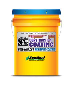 Sentinel 24-7 CC Mold & Mildew Resistant Construction Coating - 5 Gallon