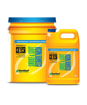 Sentinel 315 Smoke & Soot Cleaner/Wash - 5 Gallon Pail