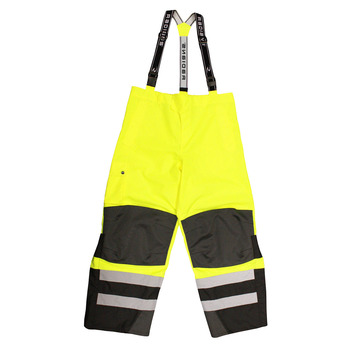 Radians Heavy Duty Rip Stop Waterproof & Breathable Pants w/Bib RW32-EZ1Y