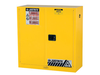 Sure-Grip® EX 30 Gal. Flammable Safety Cabinet - Manual Close Doors