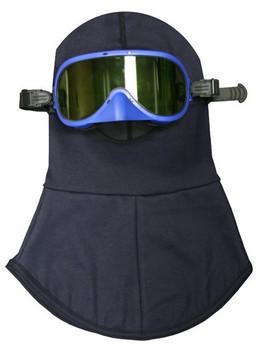 NSA 12 Cal UltraSoft® Arc-Rated Knit Balaclava Hood with Goggle - HRC 2