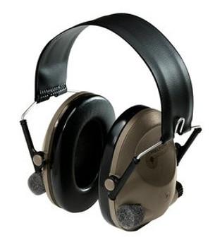 3M Peltor Sound-Trap Slimline Earmuff Tactical Electronic Headset Headband - MT15H67FB - NRR 21