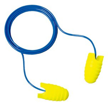 3M E-A-Rsoft Grippers Corded Earplugs [200 Pair] 312-6001