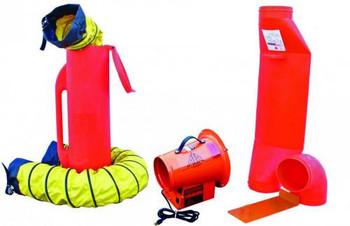 """Saddle Vent 8"""" Ventilation Kit for Non-Hazardous Locations - SVF-8ACUP"""