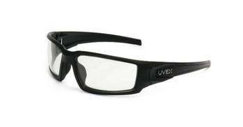 Uvex Hypershock Matte Black Frame Clear Lens, Uvextreme Plus AF