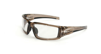 Uvex Hypershock Smoke Brown Frame Clear Lens, Uvextreme Plus AF