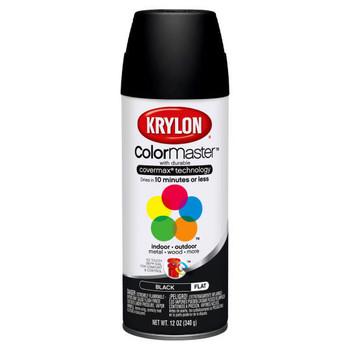 Industrial Paint-All™ Flat Black 16 oz. Enamel Paints