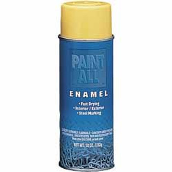 Industrial Paint-All™ Gloss Yellow 16 oz. Enamel Paints