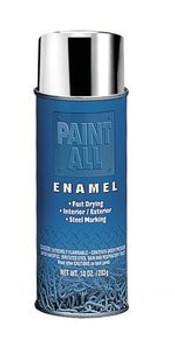 Industrial Paint-All™ Chrome/Aluminum Finish 16 oz. Enamel Paints