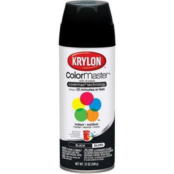 Industrial Paint-All™ Gloss Black Finish 16 oz. Enamel Paints
