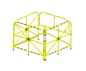"""Xtirpa™ Large Manhole Guard Integrated Mast 42"""" IN-2324"""