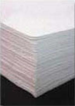 """Oil Sorbent Medium 15""""x18"""" Melt Blown Oil Pad 15x18 - 100/cs"""
