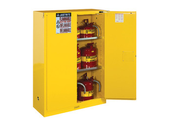 Sure-Grip® EX 45 Gal. Flammable Safety Cabinet - Self-Closing Doors