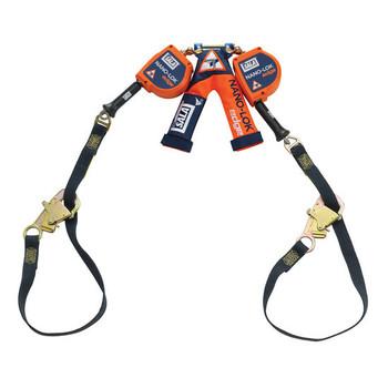 3M DBI - SALA Nano - Lok edge Twin - Leg 9 ft Tie - Back Quick Connect Self Retracting Lifeline - Cable 3500228