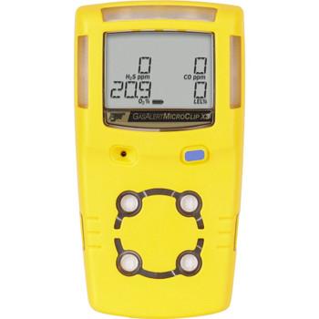 BW GasAlertMicroClip X3 Multi-Gas Detector MCX3-XWHM-Y-NA [LEL, o2, co, H2S]