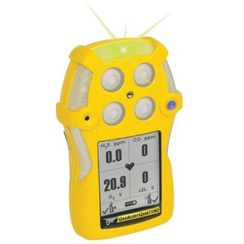 BW GasAlertQuattro Rechargeable Multi-Gas Detector QT-XWHM-R-Y-NA [LEL, o2, co, H2S]