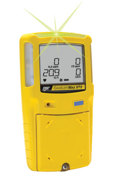 BW GasAlertMax XT II Multi-Gas Detector XT-XWHM-Y-NA [LEL, o2, co, H2S]