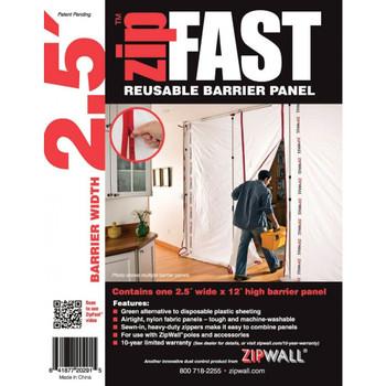 ZipWall ZipFast 2.5' Panel – ZF2