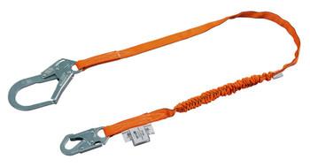 Miller Titan™ II 6 ft. Tubular Shock-Absorbing Lanyard w/Locking Rebar Hook T5112-Z7/6FTAF