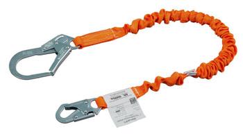 Miller Titan™ II 6 ft. Stretch Tubular Built-In Shock-Absorbing Lanyard w/Locking Rebar Hooks T5112SS-Z7/6FTAF