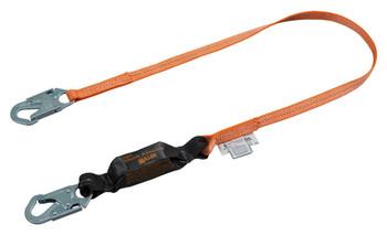 Miller Titan™ II 6ft. Pack-Type Shock-Absorbing Lanyard w/Locking Snap Hook T6111-Z7/6FTAF