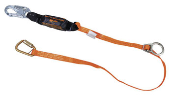 Miller Titan™ II 6 ft. Tie-Back Lanyard with Pack-Type Shock Absorber T6111TB-Z7/6FTAF