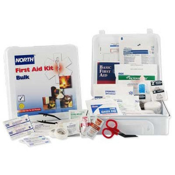 North by Honeywell 50 Person First Aid Kit - FAK50STL-CLSA