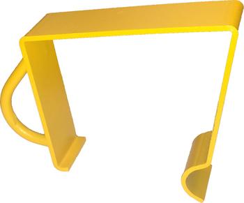 Dumpster Liner Clip Yellow (Each)