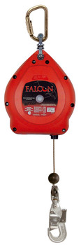 Miller Falcon 50 Ft. Galvanized Self-Retracting Wire Rope Lifeline MP50G-Z7/50FT