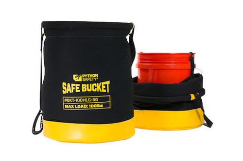 Python Safety Long Safe Bucket 100lb Load Rated Hook and Loop Canvas - 6 ft (1.8 m) - 1500137