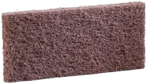 3M Niagara Brown Heavy Scratch Pad - 8541N