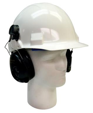 3M PELTOR TacticalPro Communications Headset MT15H7P3E SV, Hard Hat Attach 1 EA/Case