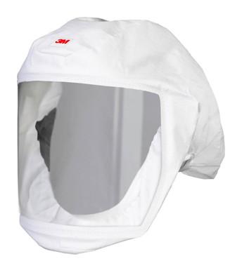 3M Versaflo Headcover with Integrated Head Suspension S-133S-5 White Small - Medium 5 EA/Case