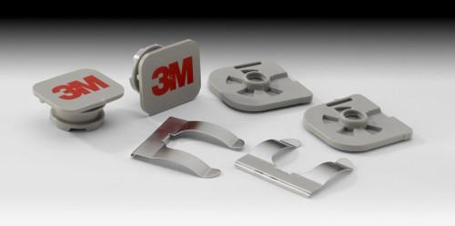 3M Versaflo Replacement Visor Pivot Kit M-960 1 Pair/Case