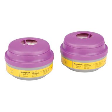 North by Honeywell Organic Vapor/Acid Gas & P100 Filter 2/pack [7583P100L]