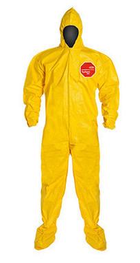 DuPont Tychem® 2000 Yellow Coverall - QC122B YL