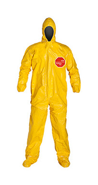 DuPont Tychem® 2000 Yellow Coverall - QC122T YL