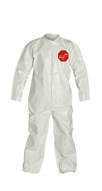 DuPont Tychem® 4000 White Coverall - SL120B WH