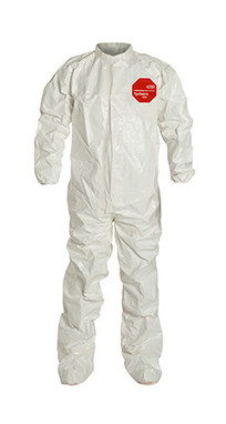 DuPont Tychem® 4000 White Coverall - SL121T WH