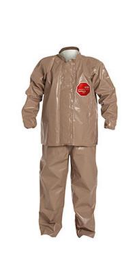 DuPont Tychem® 5000 Tan Jacket/Bib Overall - C3750T TN