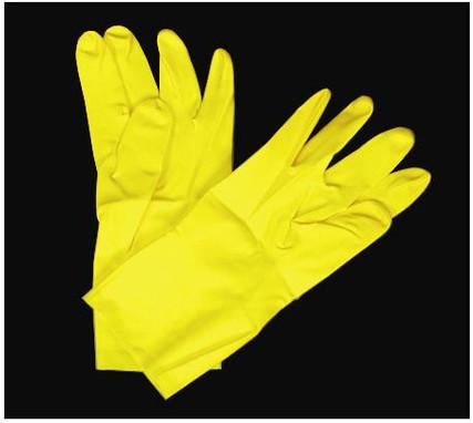 Latex Yellow Gloves XL- Dozen