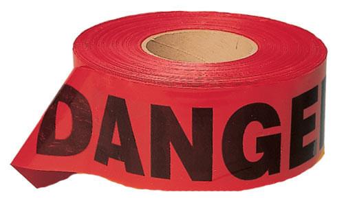 Danger Red 2ml Tape