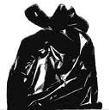 """Black 33""""x50"""" Contractor Trash Bags 100/roll"""
