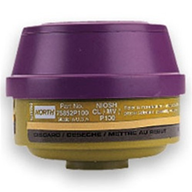 North by Honeywell Mercury Vapor/P100 Filter 2/pack [75852P100]