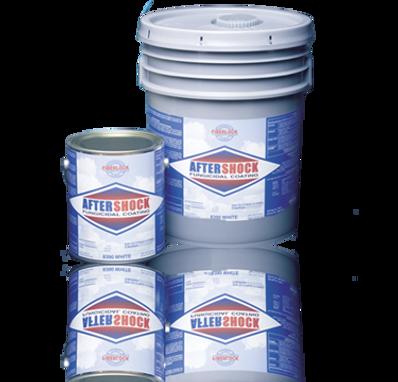 Fiberlock AfterShock Fungicidal Coating - White - 5 Gallon