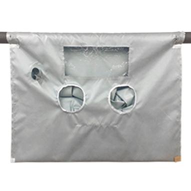 """High Temperature Glove Bag 400°F 72""""x120"""""""