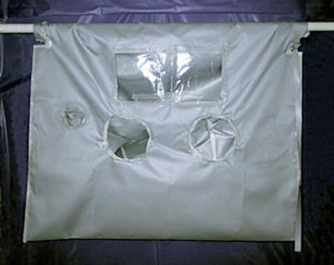 High Temperature Vertical Glove Bag 700°F V10